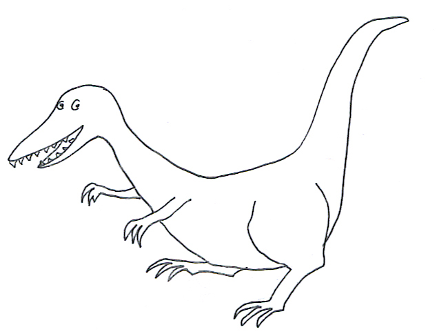 ... Printable Dinosaur Coloring Pages. Eraptor Coloring Page