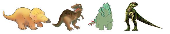 dinosaur facts border clipart