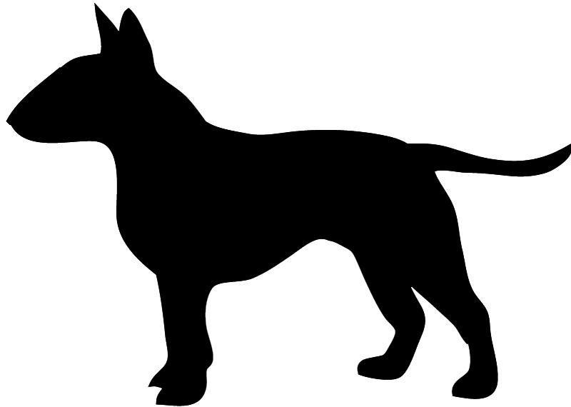 Bull-terrier silhouette