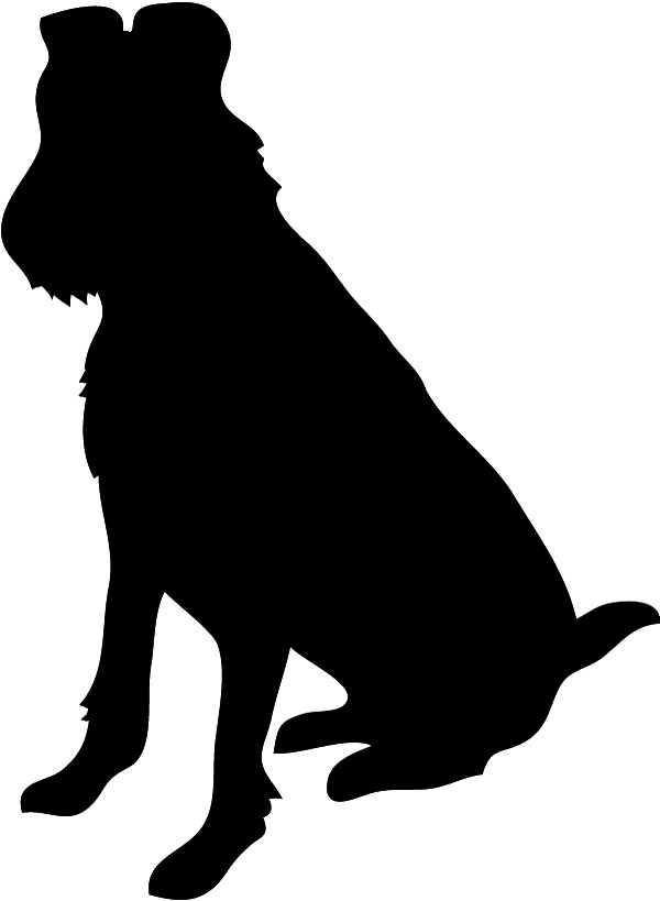 Great Dane clipart Silhouette Sitting Dog Silhouette Png