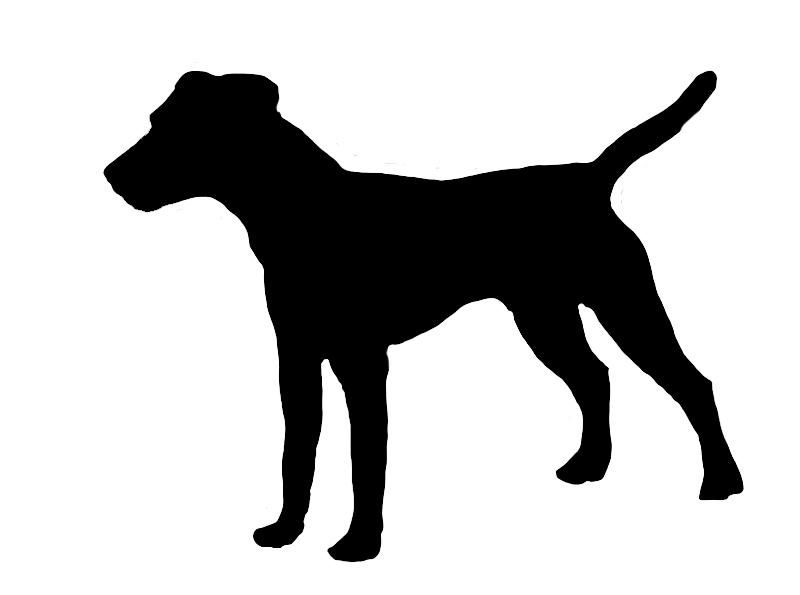 parson russel terrier silhouette jpg