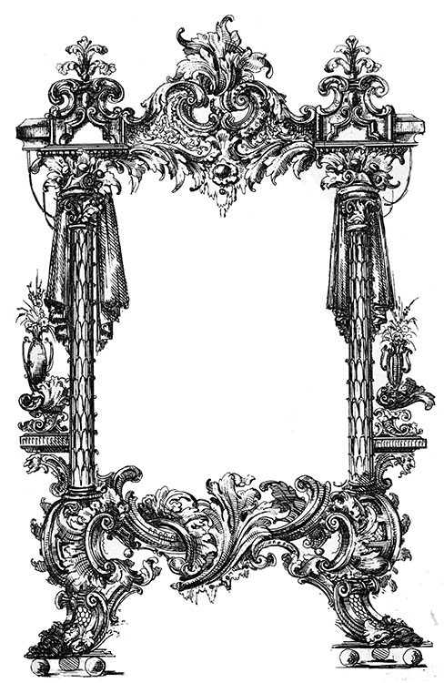 bombastic frame Victorian era
