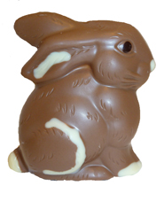 easter bunny chocolate 1