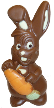Easter clip art bunny chocolate