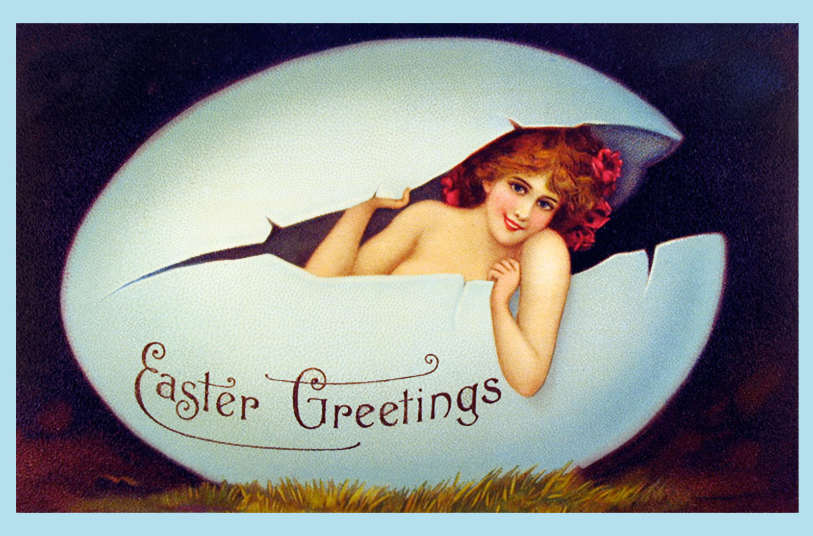 Easter card for adults