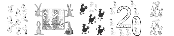 Easter bunny clipart Easter printables