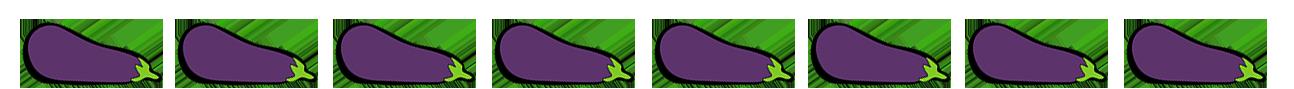 eggplant border