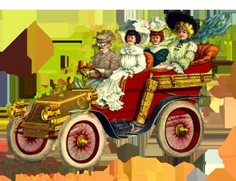 tour car illustration