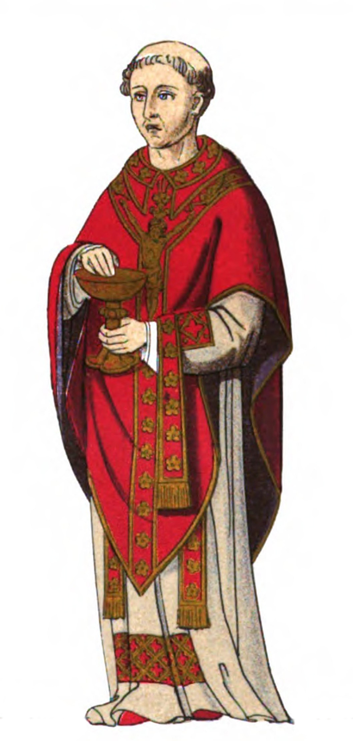 English priest 15th century