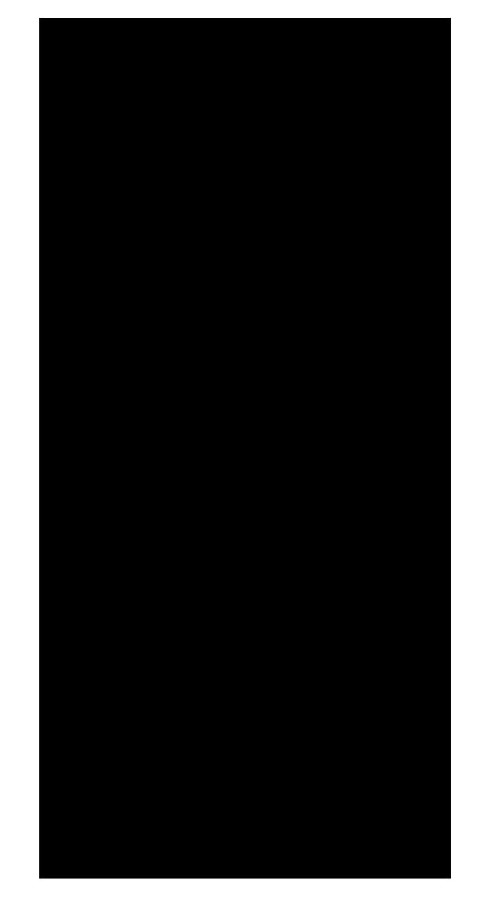 Victorian head silhouette