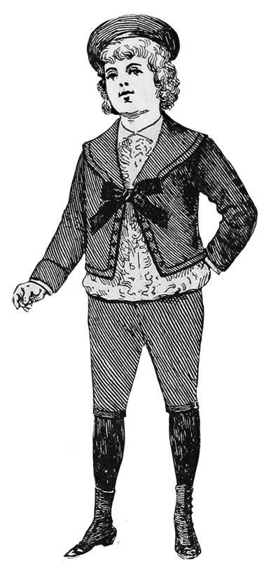 Fauntleroy suit boy fashion 1894