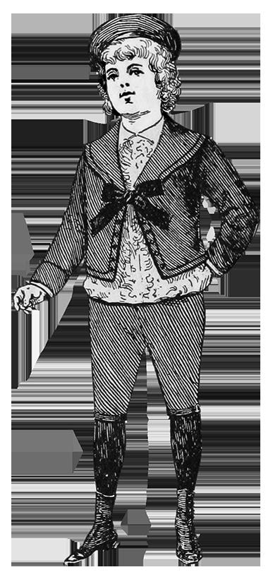 Fauntleroy suit boy fashion 1894