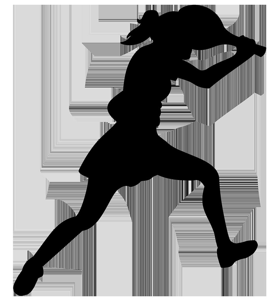 female tennis player clipart