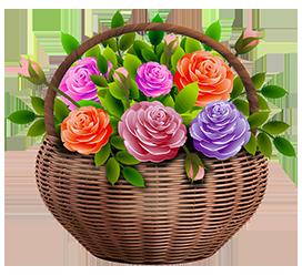 flower garden clipart