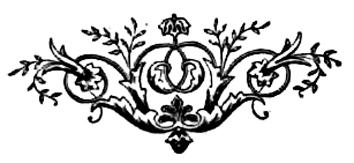 Victorian decorating element