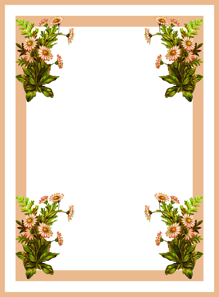 of floral frames - photo #24