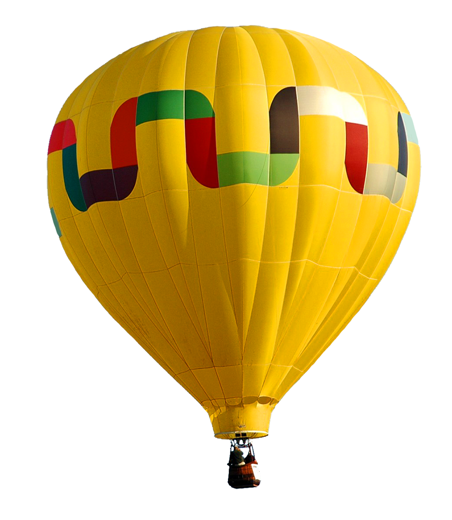 Hot air flying baloon