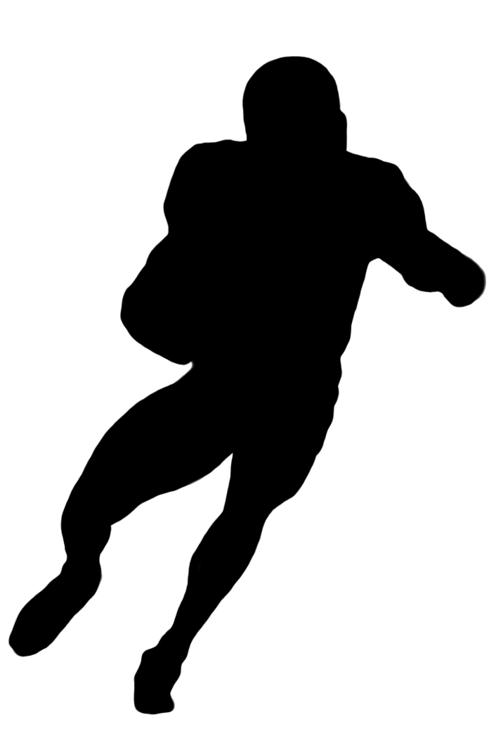 clipart of football player