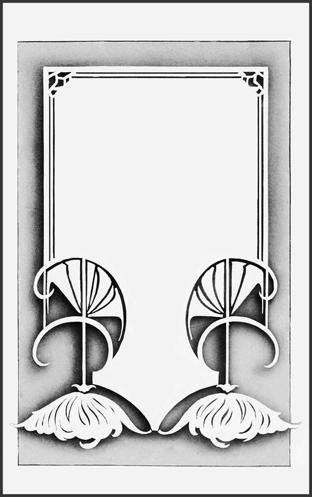 frame art nouveau