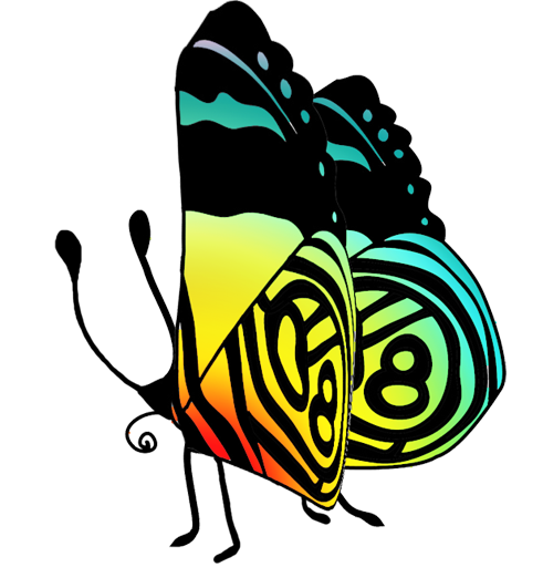 free butterflies colorful