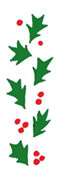 holly free christmas clip art border 2