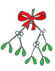 christmas clipart holly