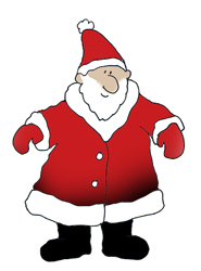 Christmas clip art Santa Claus
