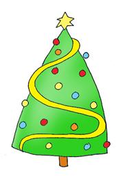 christmas graphics tree star decorations