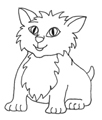 free coloring pages cute kitten
