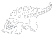 free coloring pages dinosaur