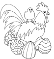 free coloring pages Easter pages