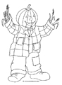 halloween coloring pages pumpkin man