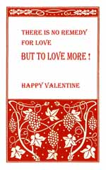 Happy Valentine card printable free