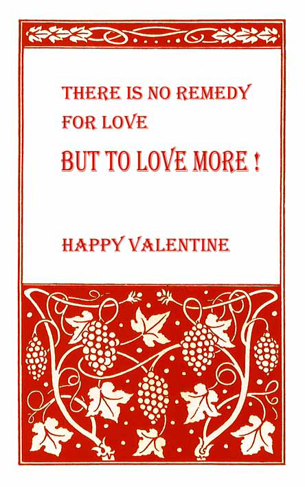 free printable Valentine cards about love