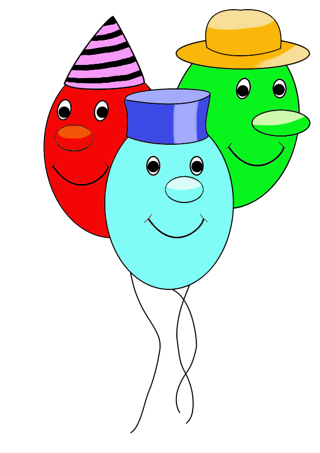 funny balloons with faces for birthday