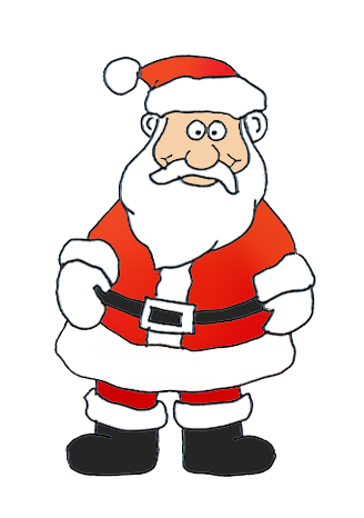 Funny And Free Santa Claus Clipart