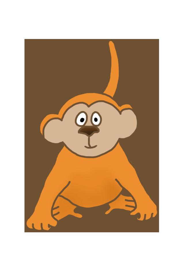 Monkey drawings