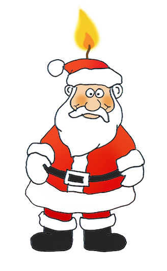 funny and free santa claus clipart rh clipartqueen com clip art santa and sleigh clip art santa workshop