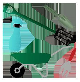 garden tools png