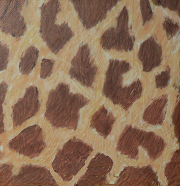 Smokey giraffe skin pattern