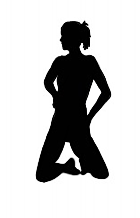 girl gymnast silhouette