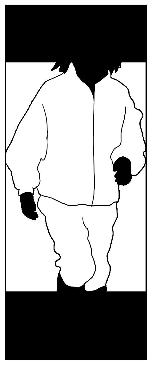 silhouette of children girl running