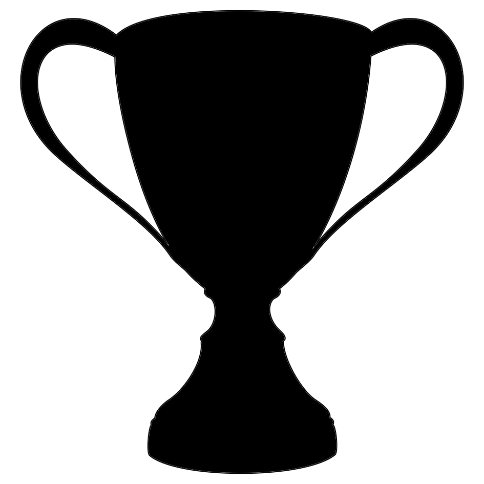 black silhouette cup
