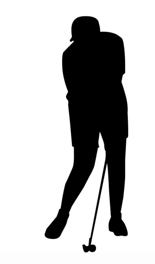 golf player clipart