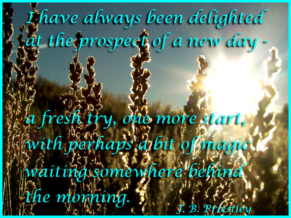 good morning picture quote new day