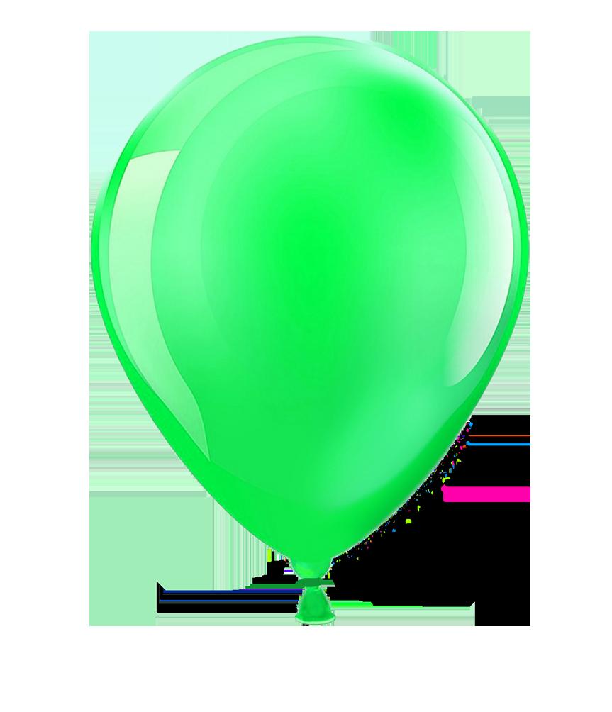 greeen balloon clipart