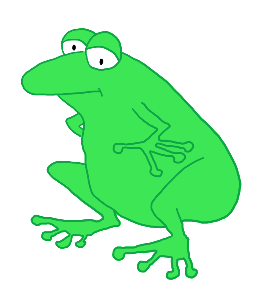 Cartoon frog - photo#40