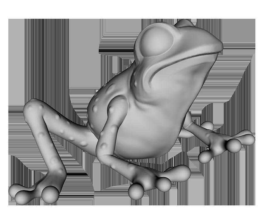 grey frog thing