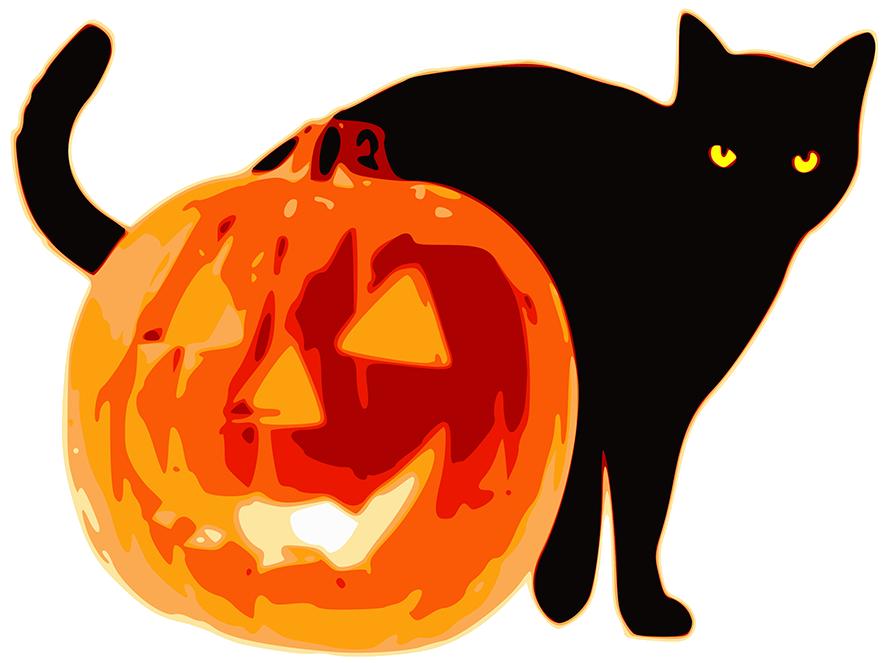 happy halloween clipart rh clipartqueen com creepy halloween clipart scary halloween clipart animated