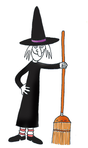 halloween graphics witch